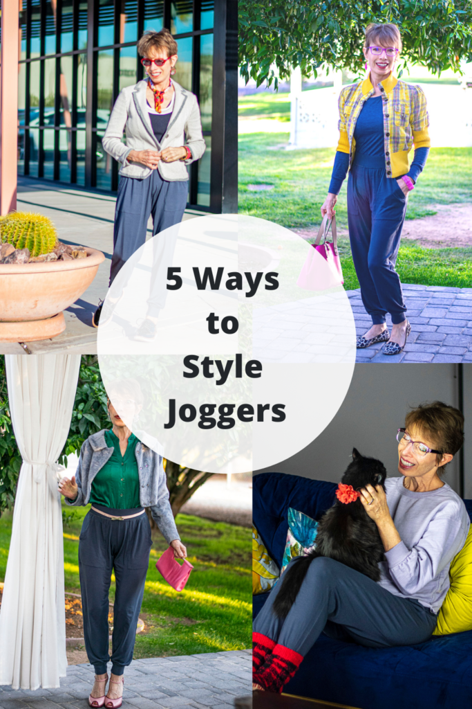 5 ways of styling joggers