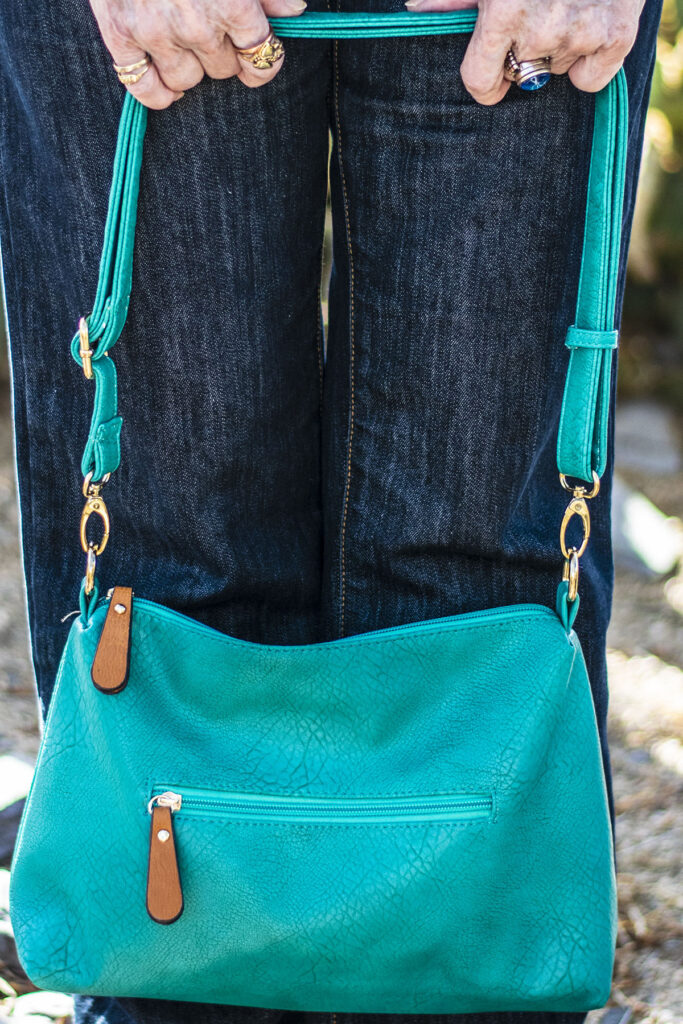 Turquoise bag for summer