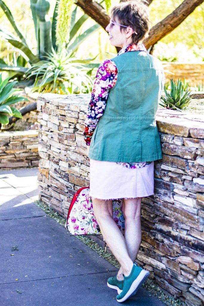 Denim skirt for women over 50