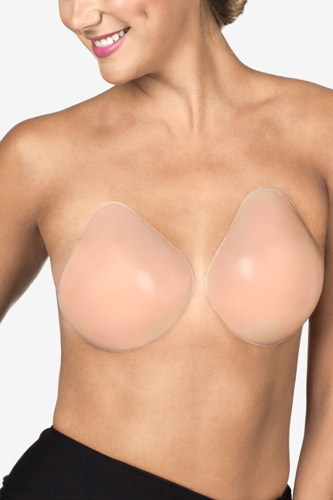 Fashion forms for comfortable strapless bra
