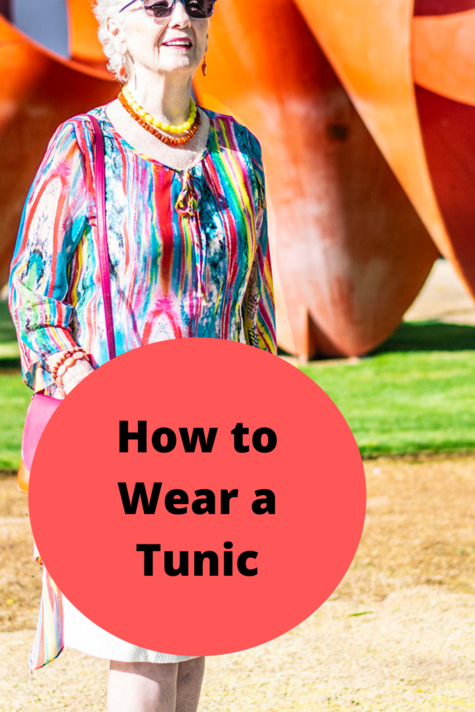 How to wear a tunic
