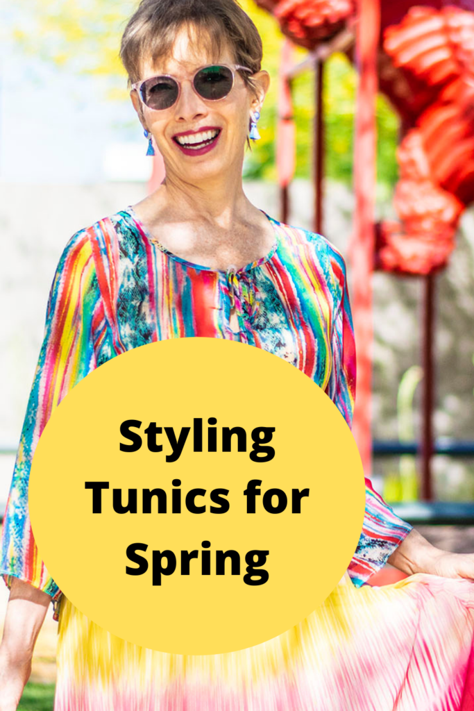 Styling tunics for spring