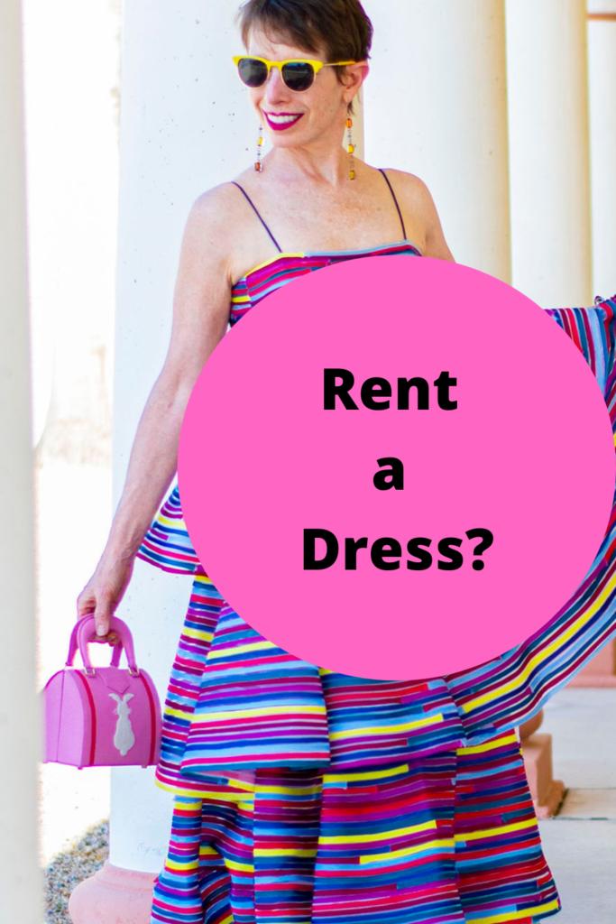 Rent a dress?