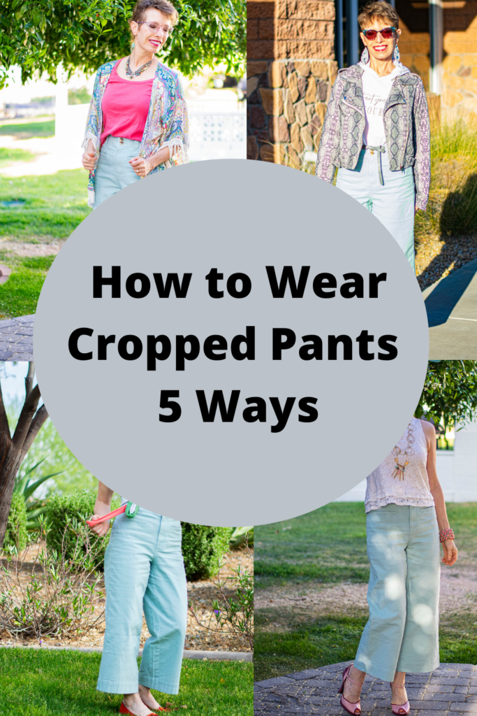 How to wear cropped pants