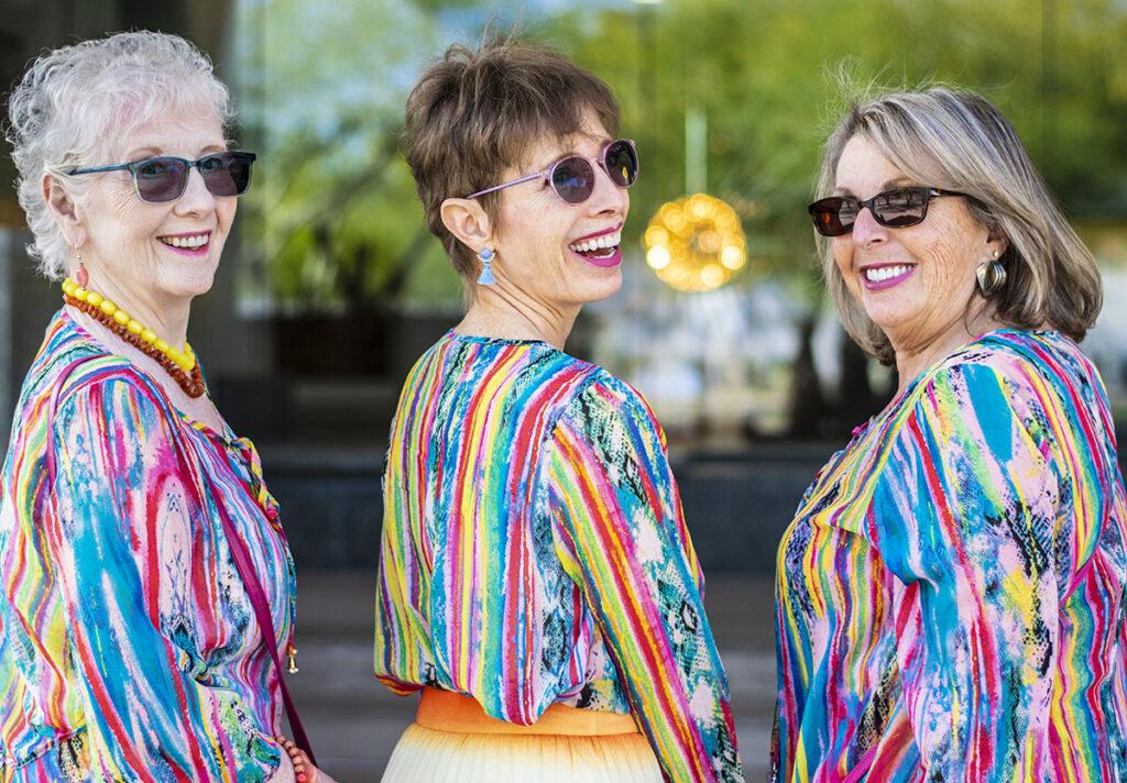 Styling tunics for older women