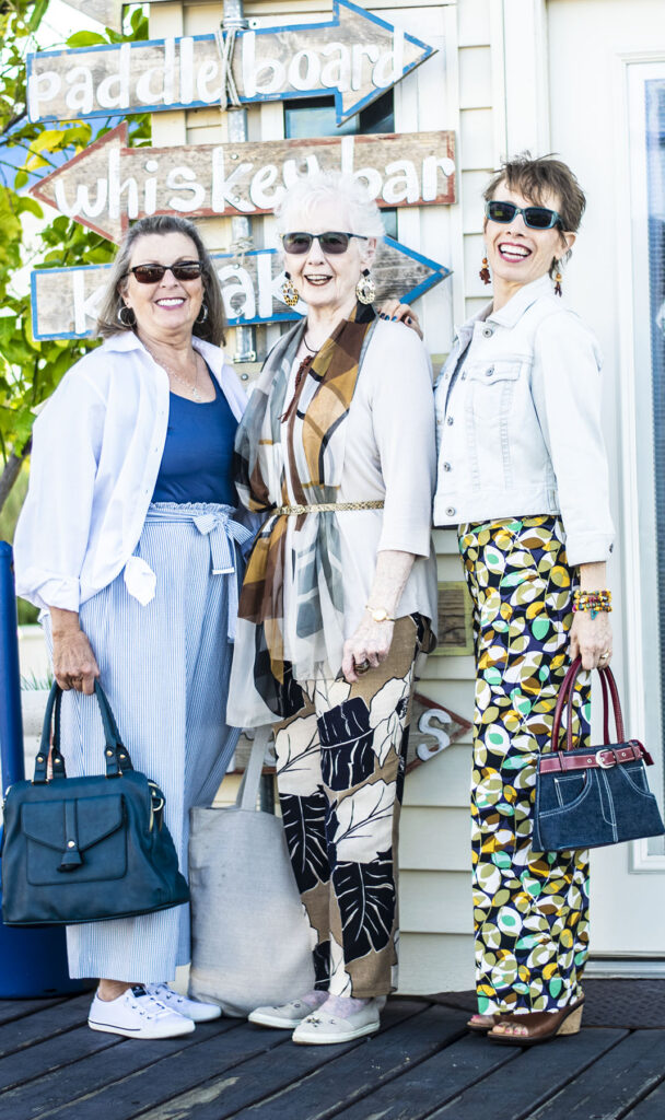 How to wear print pants for any age
