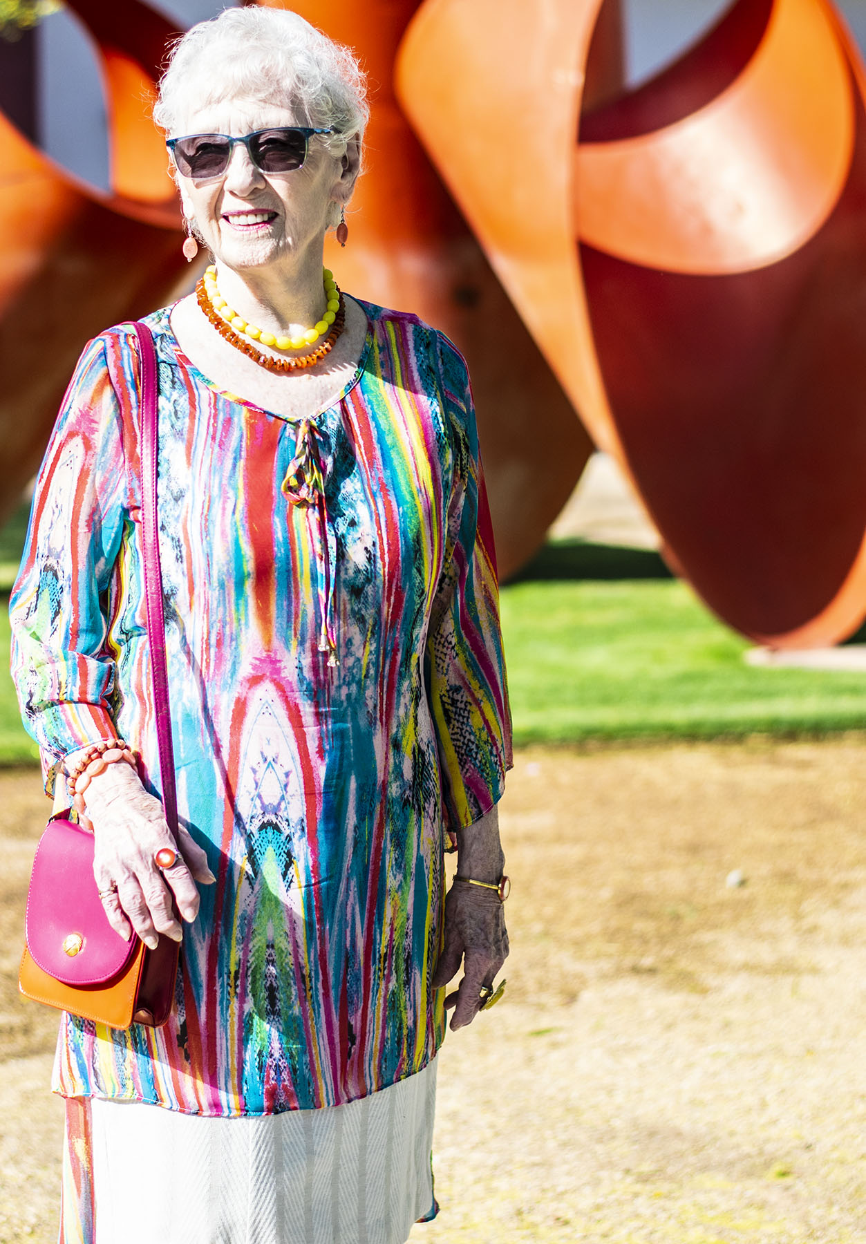 Colorful Summer Style: How to Wear a Tunic Over a Dress