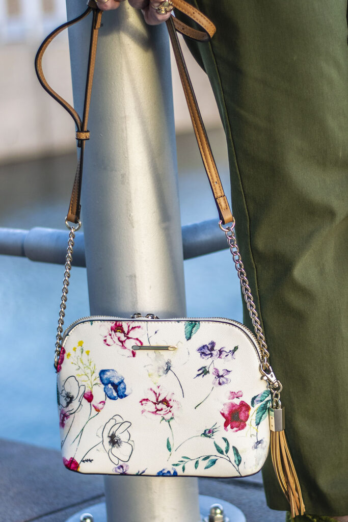 Floral purse to springify