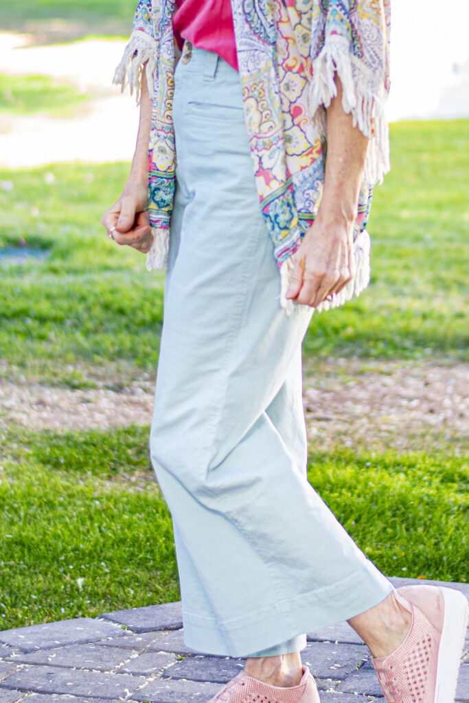 The cropped pants trend