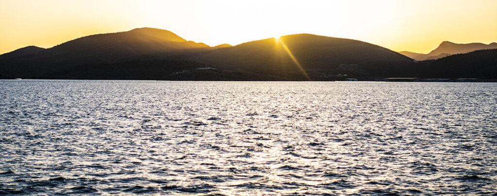Sunset on Lake Pleasant
