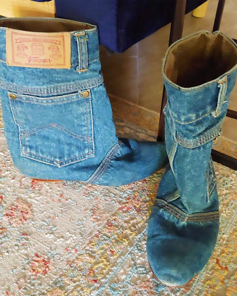 Denim boots memories