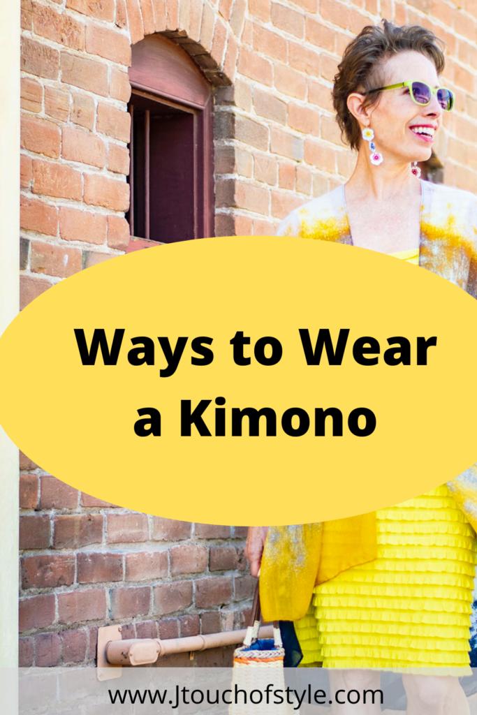 Ways to wear a kimono