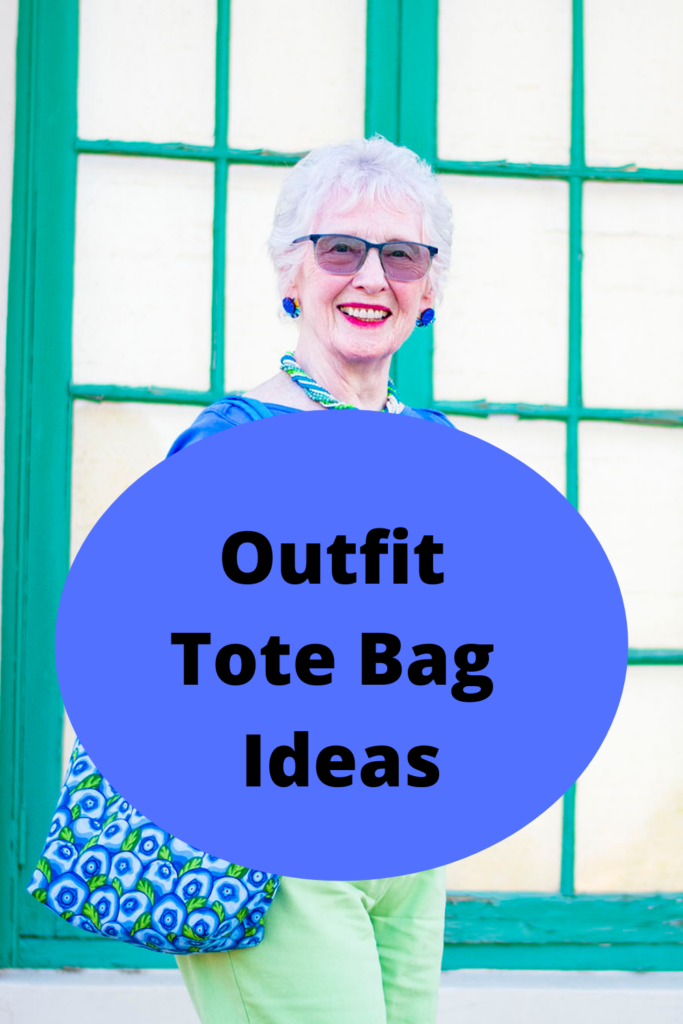 Outfit tote bag ideas