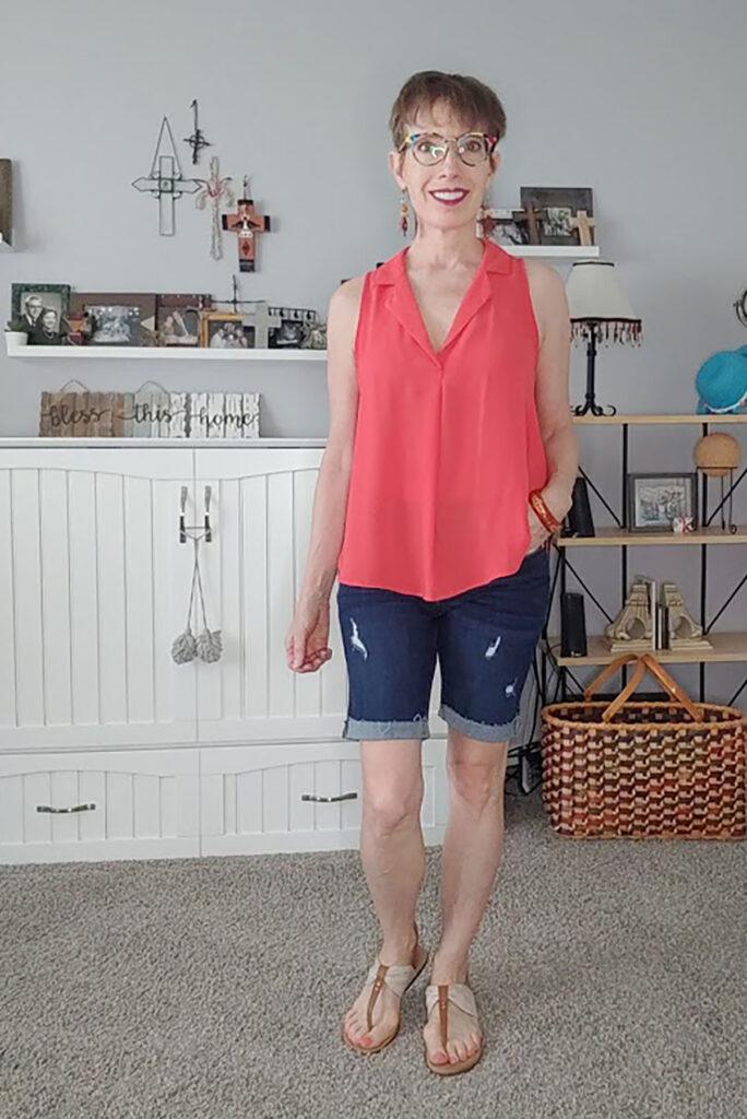 Longer shorts for women