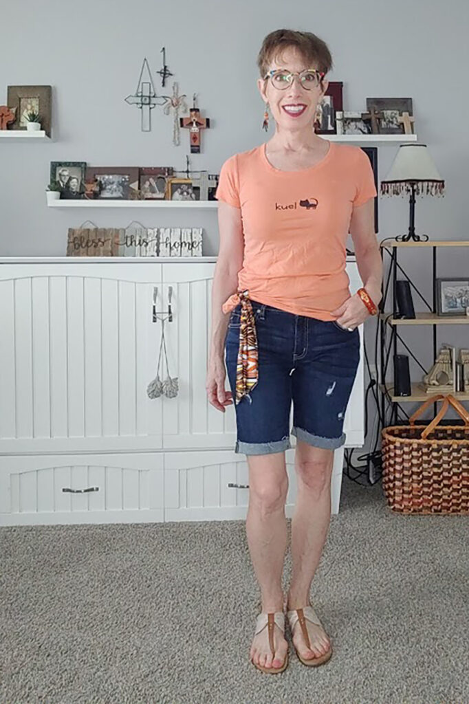 Add flair for how to style bermuda shorts