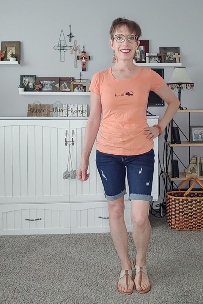 Tee and shorts