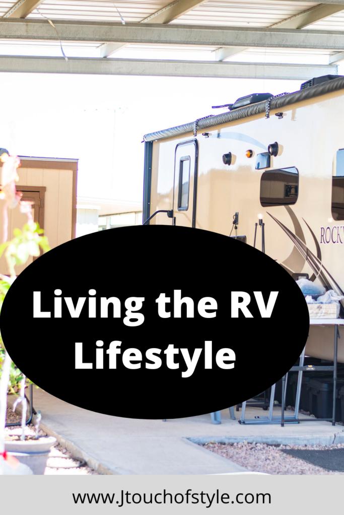 Living the RV lifestyle