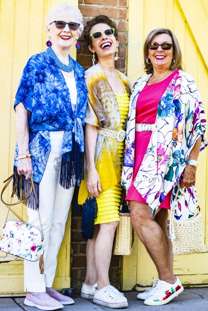 3 ways to style a kimono