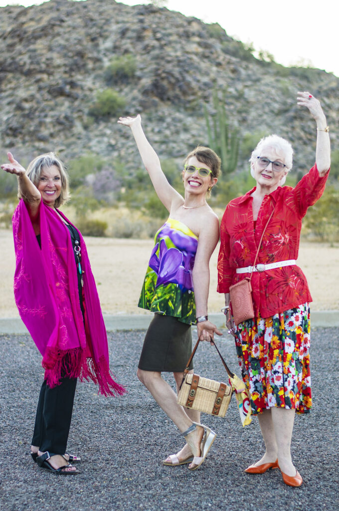 Creative style for older women