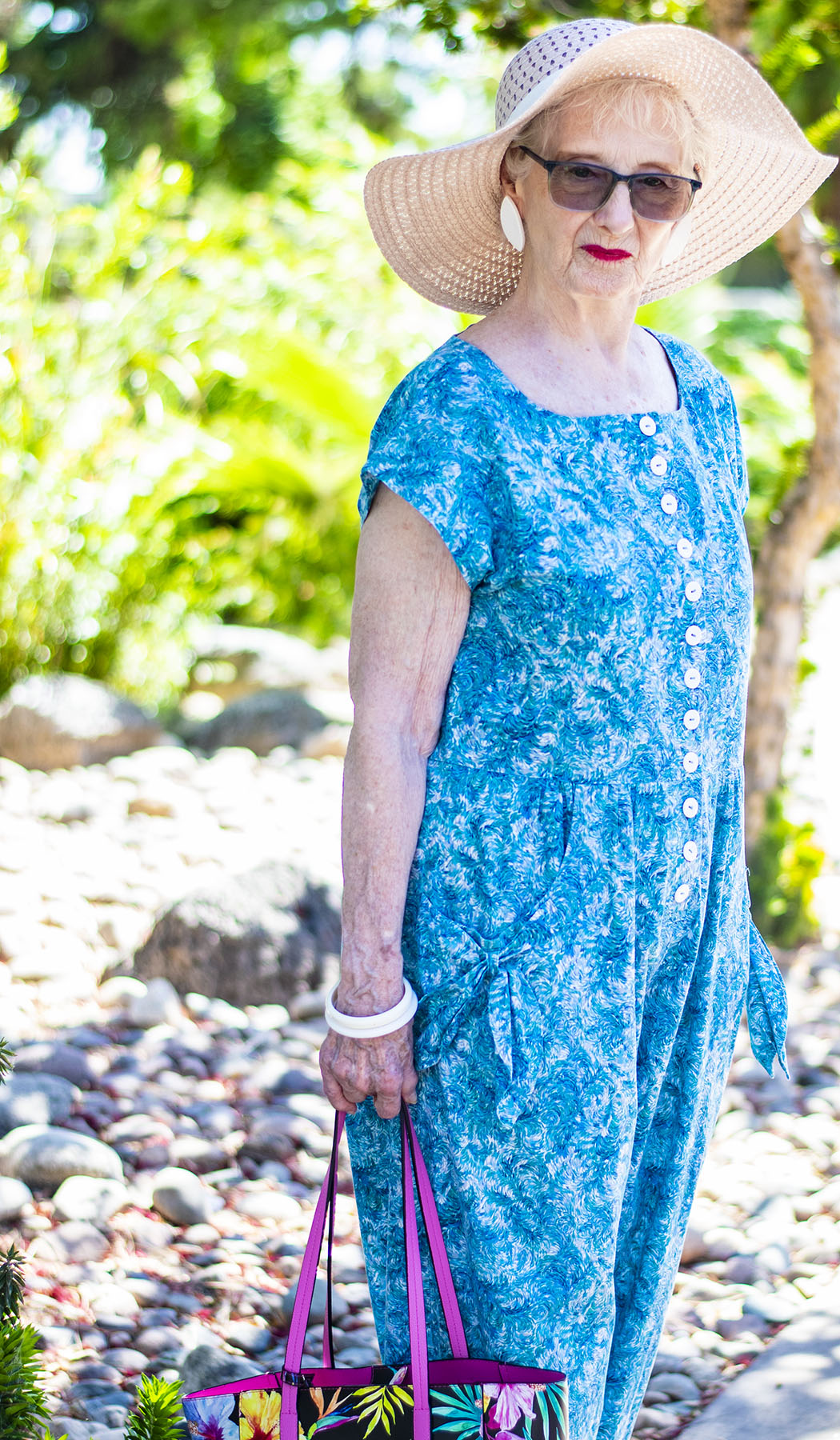 Colorful Resort Wear for Women over 50