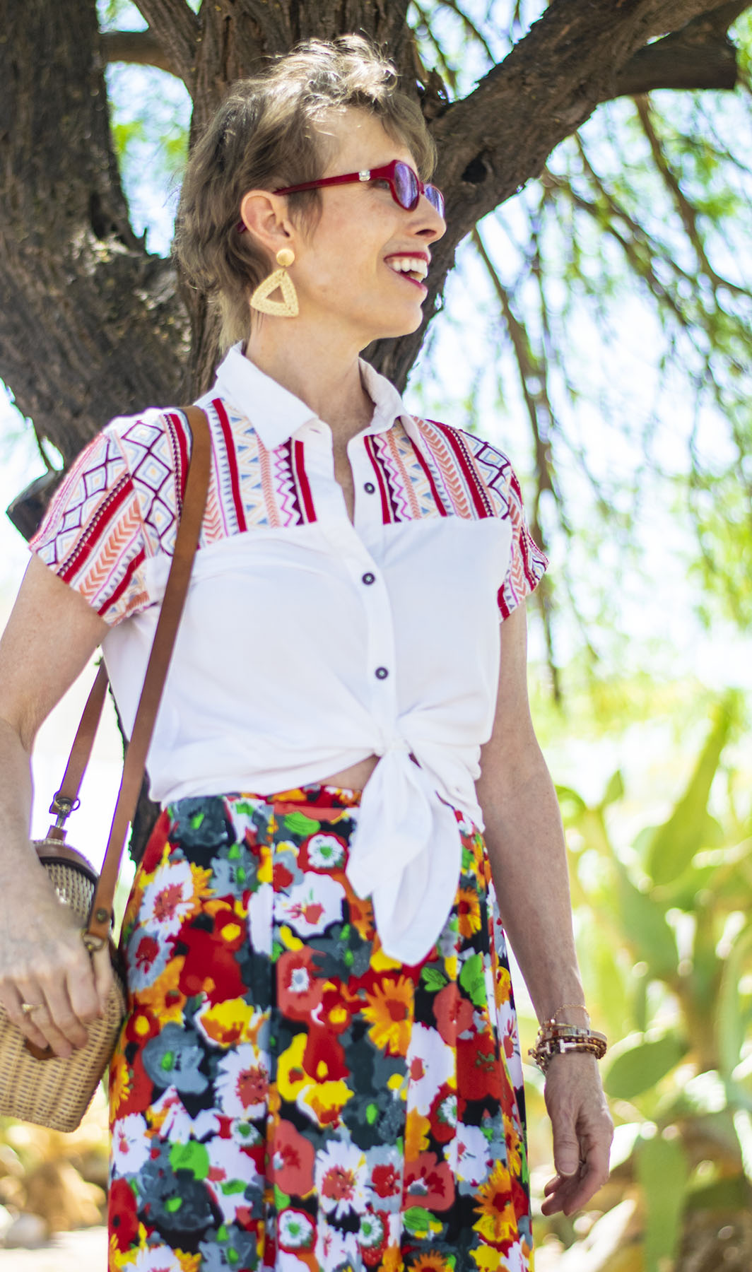 Summer Style: How to Style an Embroidered Blouse