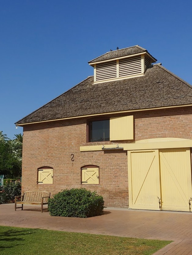 Carriage house Rosson house at Arizona Heritage Center tour
