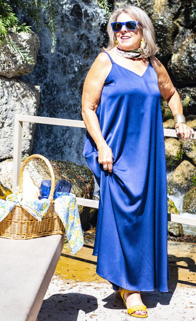 Picnic style for older women