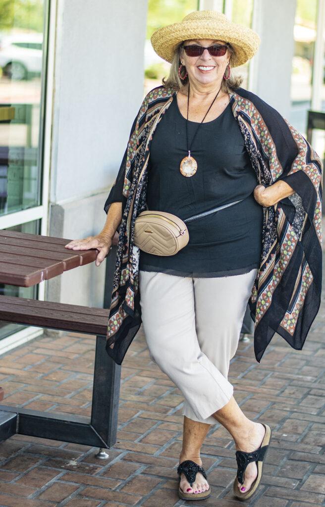 Styling a belt bag for women