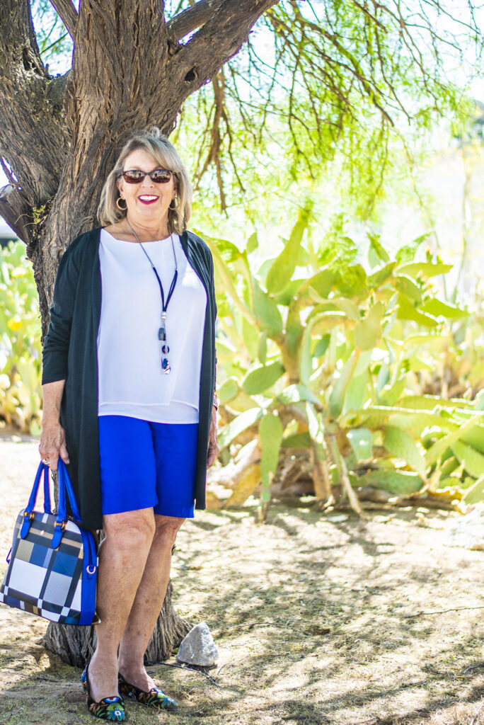 Summer outfit for older women