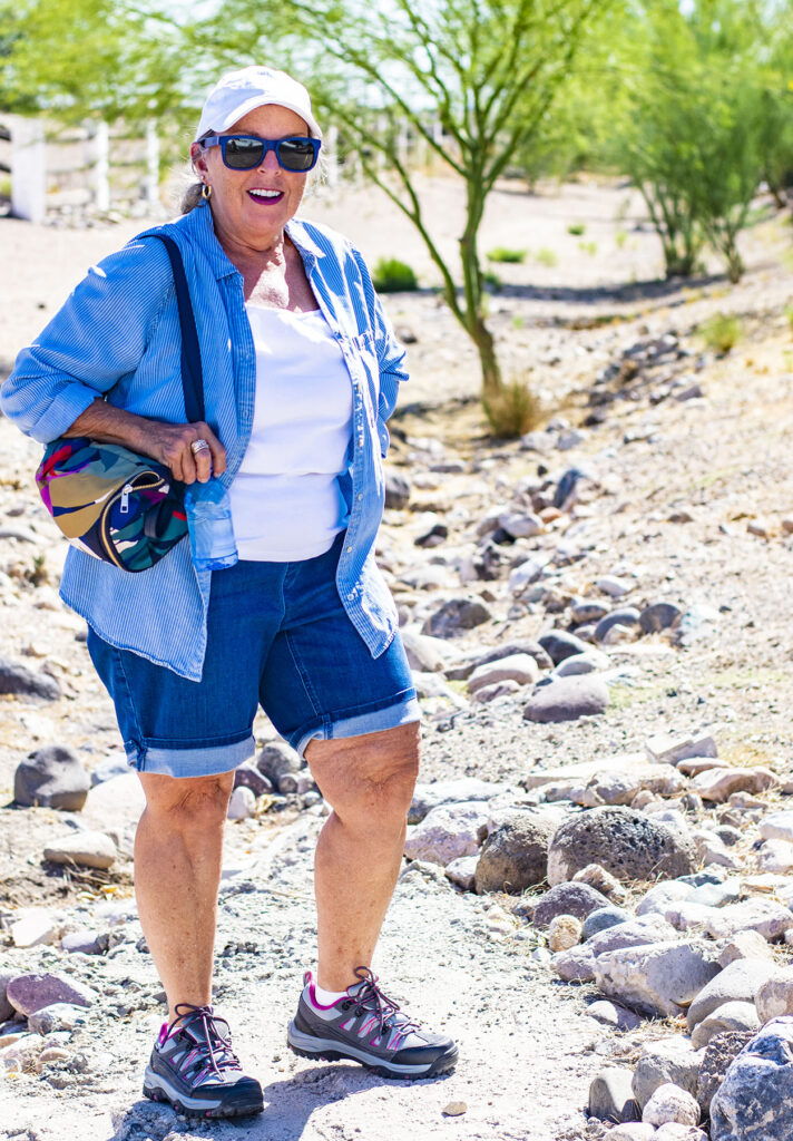 Having versatile items for what to wear hiking