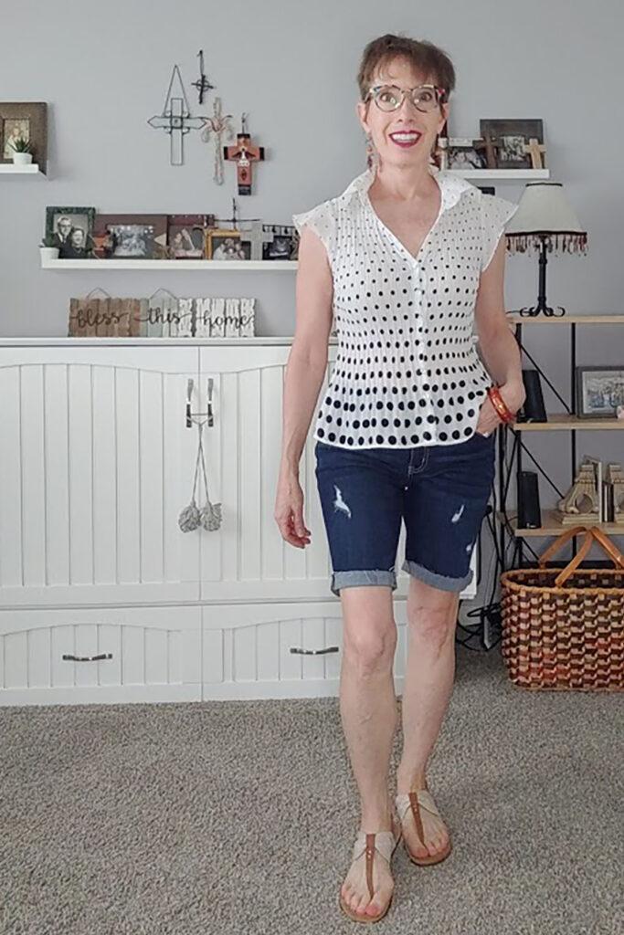How to style longer shorts stylishly