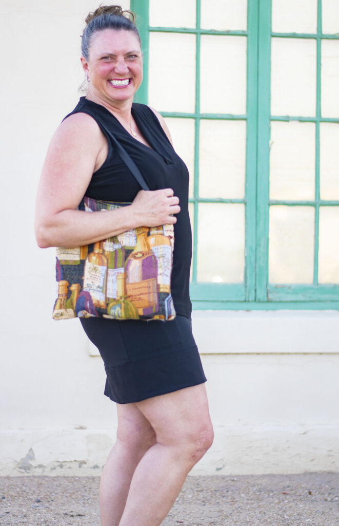 Midlife women with tote bag fashion