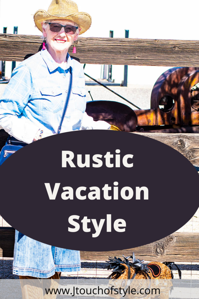 Rustic vacation style