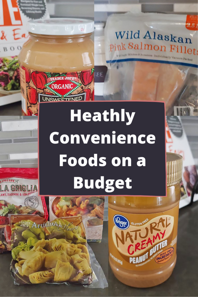 Healthy convenience foods on a budget
