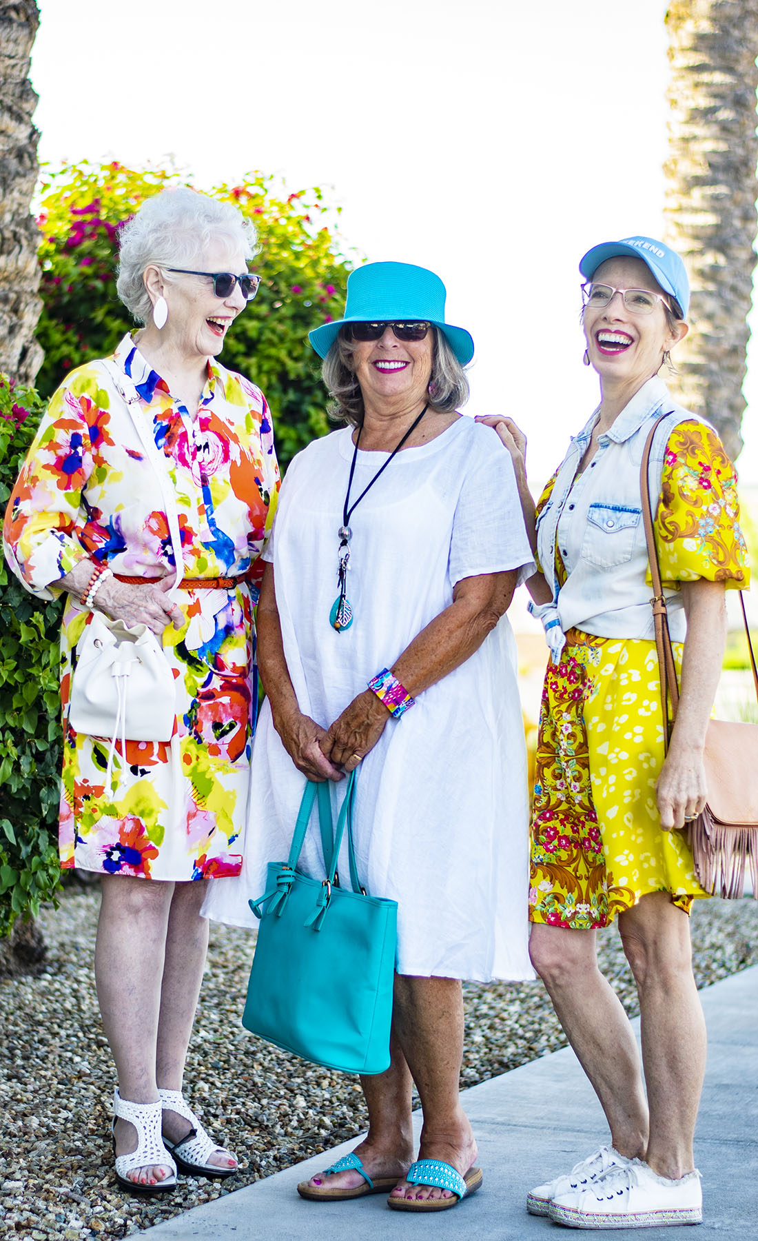 Colorful Ageless Style: Summer Brights From Day to Night & Link Up