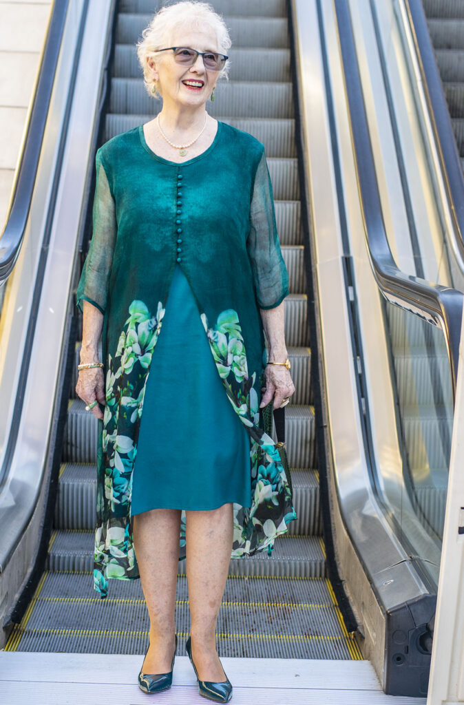 Woman over 70 and what to wear to a Broadway Show