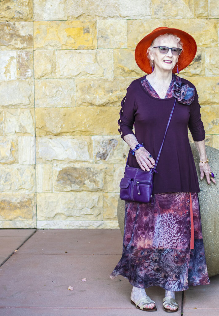 Woman over 70 and what to wear to a class reunion