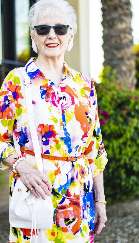 Summer brights for older women