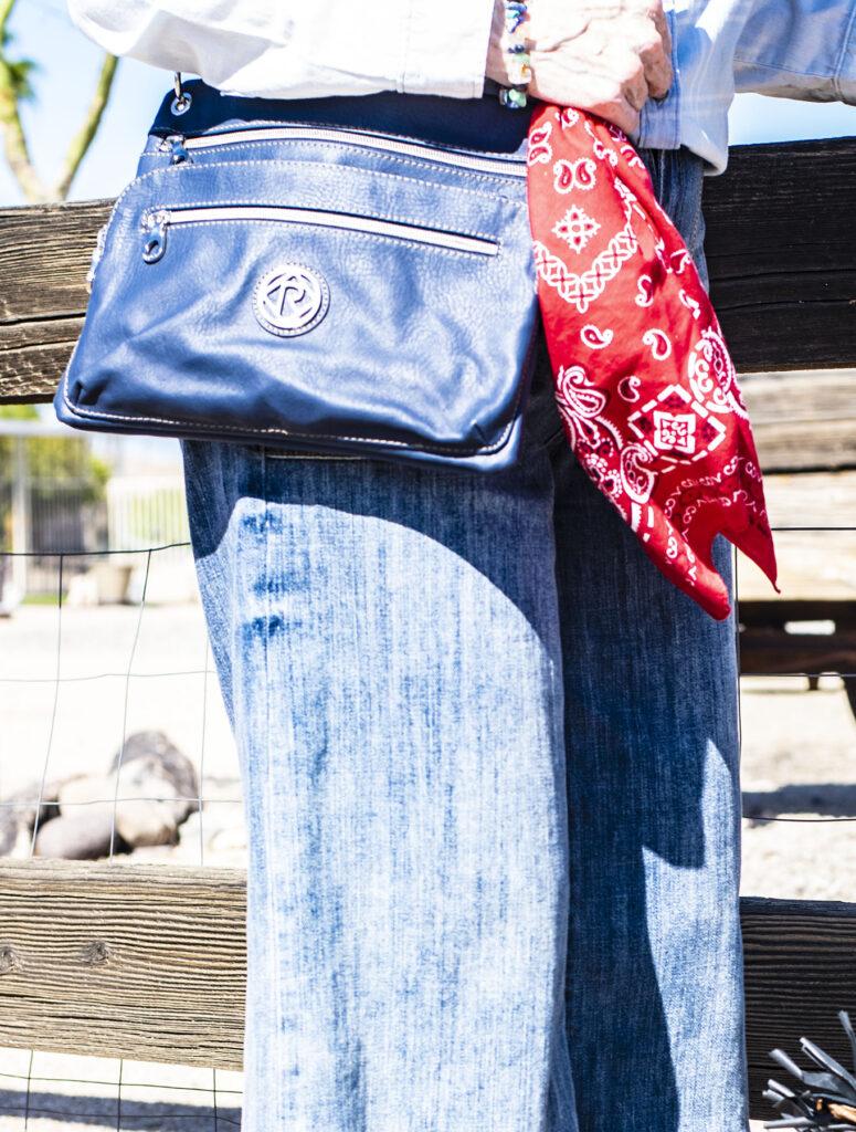 Bandanna for a purse