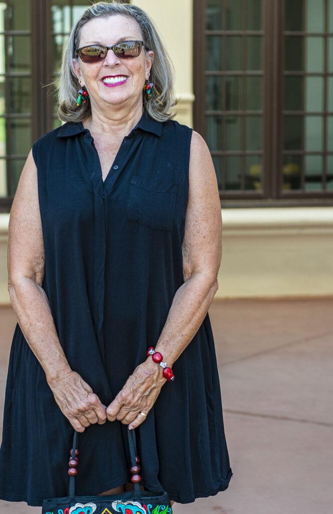 Black dress for women over 70