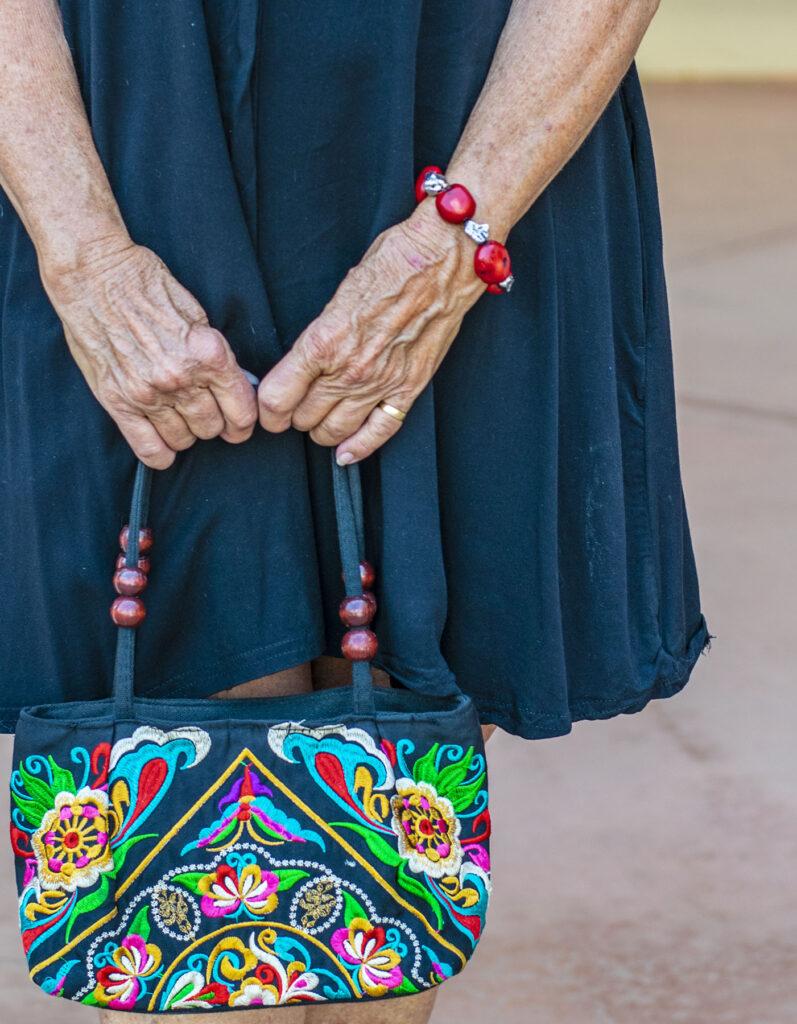 Colorful purse