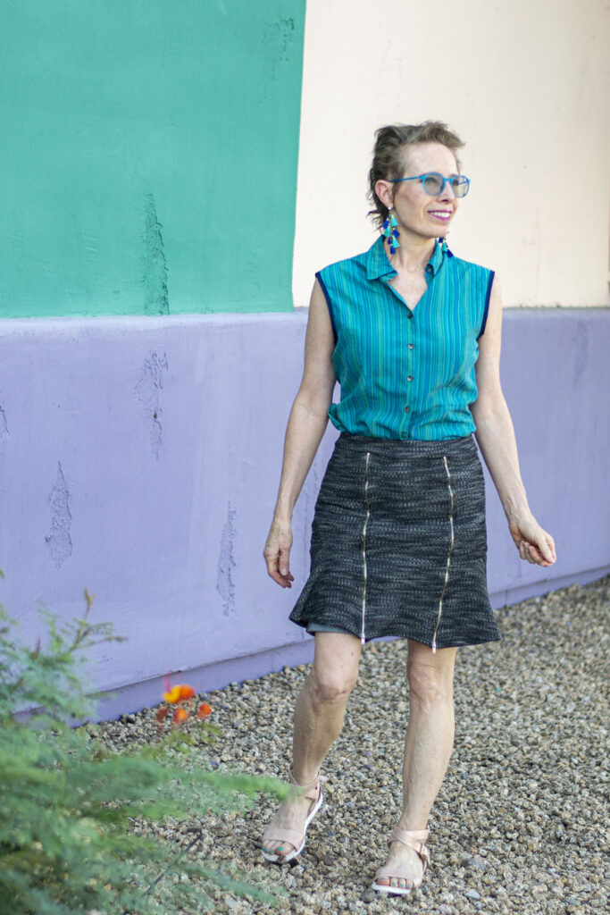 Modesty for how to wear a short skirt