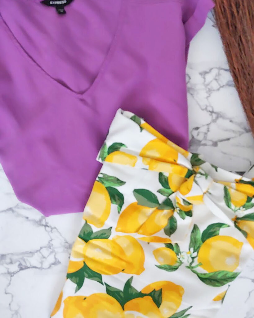 Color recipe for variety in your closet