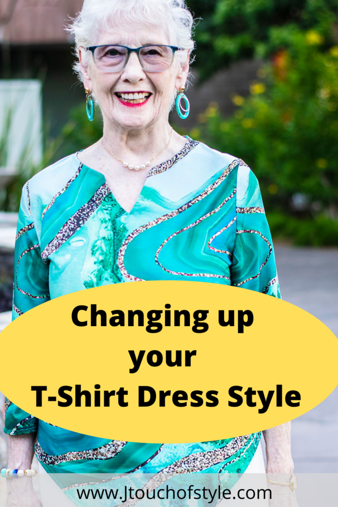 Changing up your t-shirt dress style