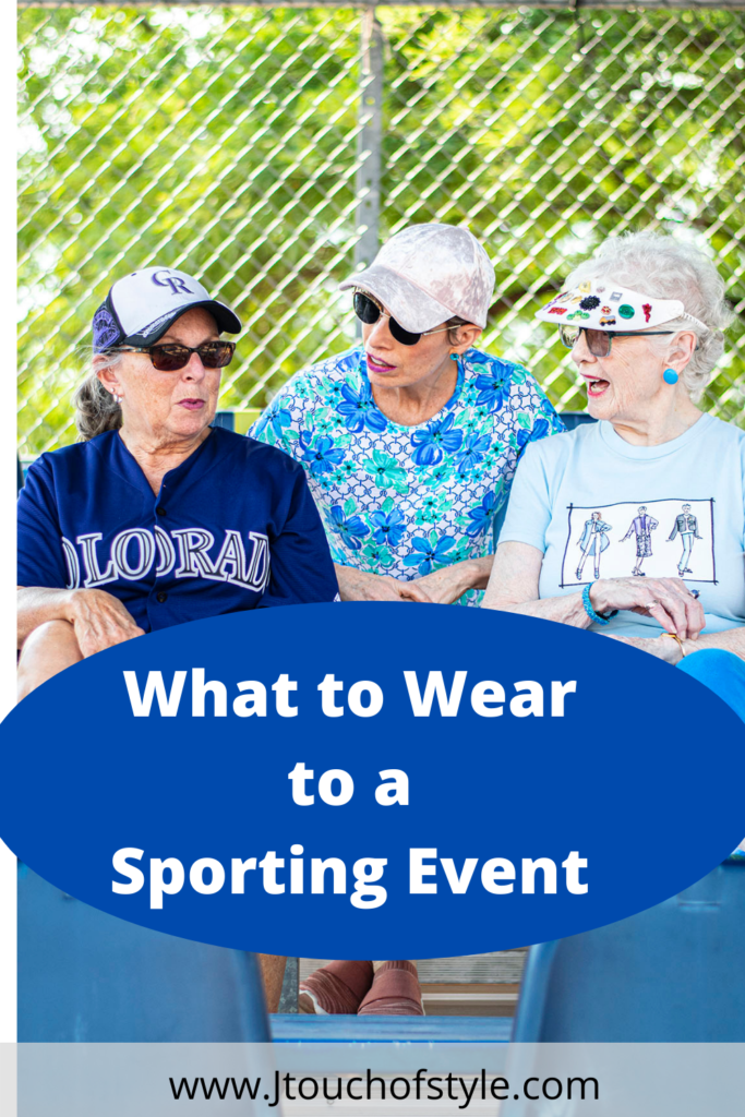 What to wear to a sporting event