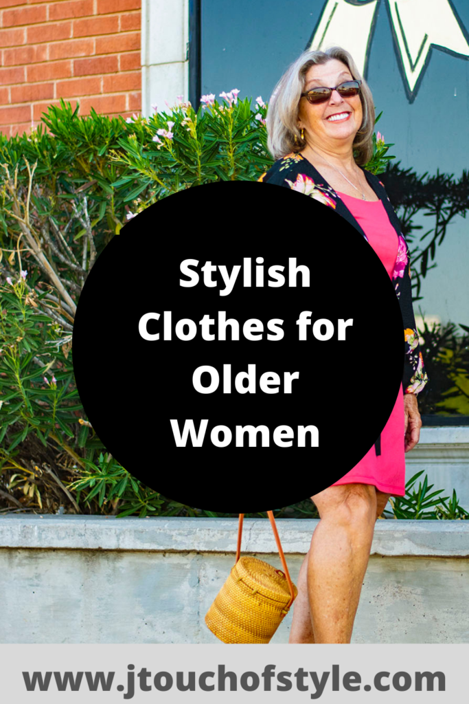 Stylish clothes for older women