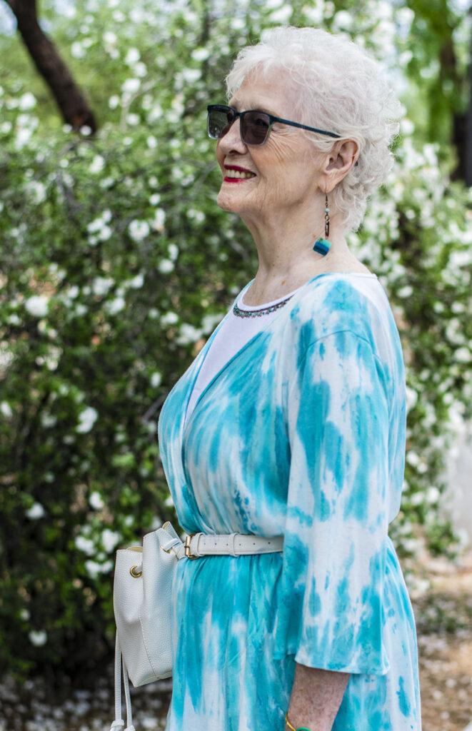 Tie dye for older women