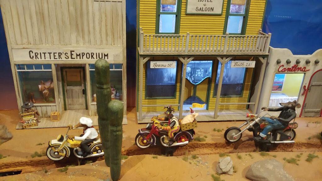 Exhibits at the Mini Time Machine Museum