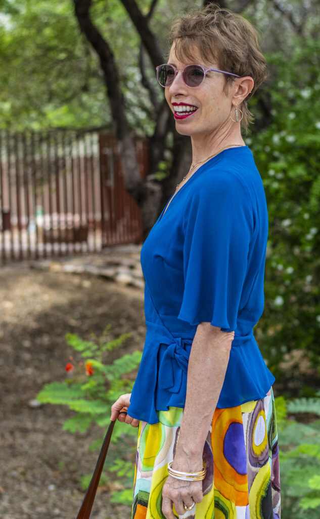 Color and style for women over 50