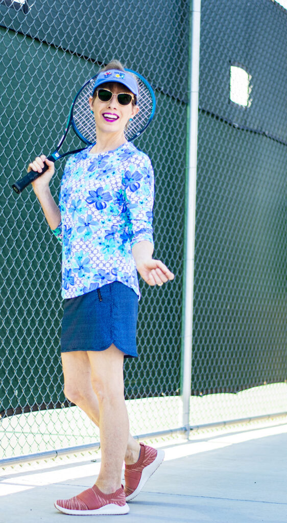 Tennis or pickle ball outfit
